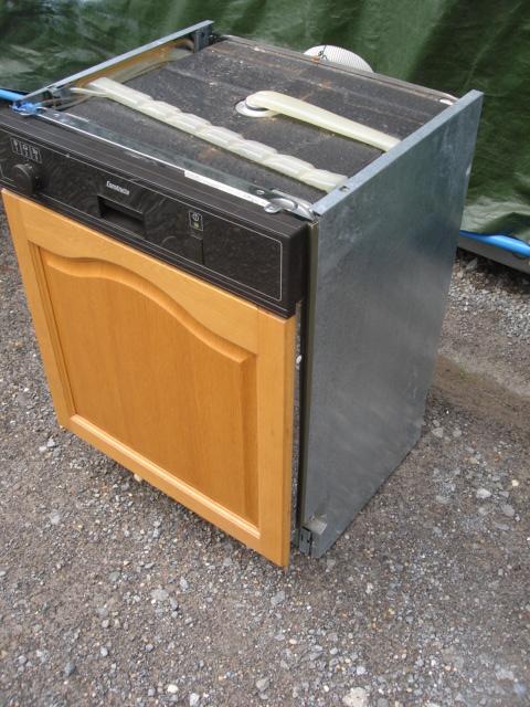 Constructa Einbau Spülmaschine Geschirrspüler Braun Aqua