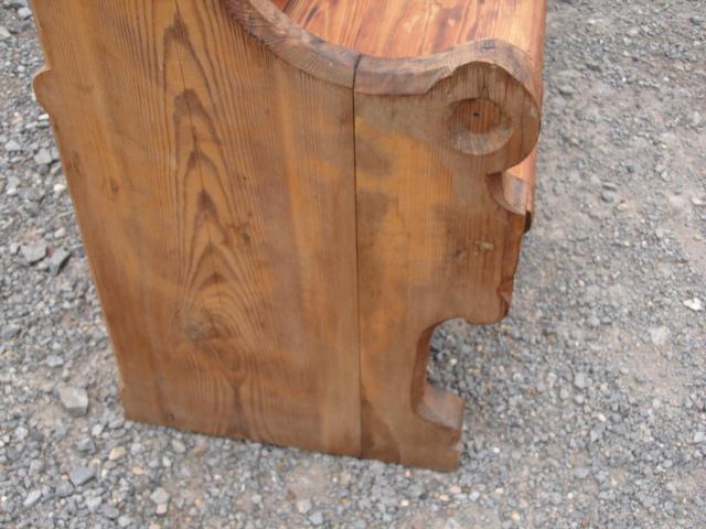 kirchenbank eglise sitzm bel sitzbank weichholz massiv kirchen bank 4 5m 450cm ebay. Black Bedroom Furniture Sets. Home Design Ideas