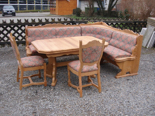 eckbank eiche hell essecke esstisch tisch esszimmerecke sitzecke st hle ebay. Black Bedroom Furniture Sets. Home Design Ideas