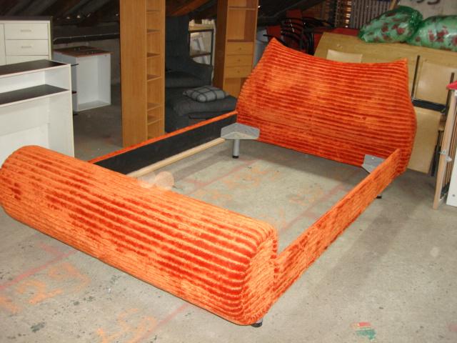 bretz bett 140 x 200 stoff ebay. Black Bedroom Furniture Sets. Home Design Ideas