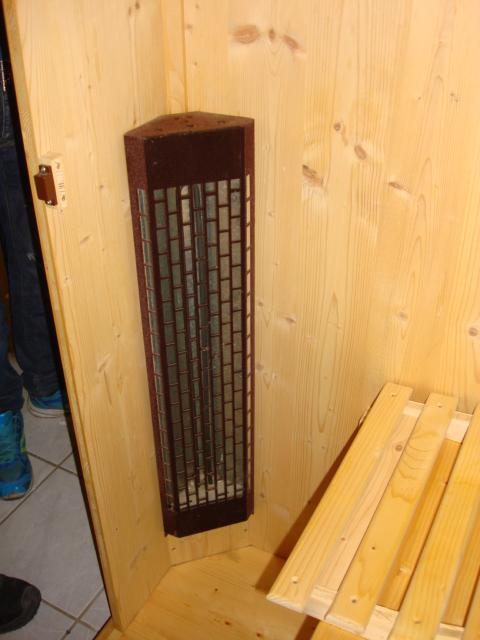 sauna mit strom infrarotkabine thermospa swiss tech ebay. Black Bedroom Furniture Sets. Home Design Ideas