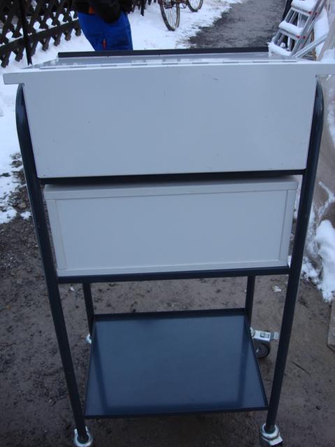 stehpult aus metall schreibpultaufsatz mit rollen rednerpult pult lieferung ebay. Black Bedroom Furniture Sets. Home Design Ideas