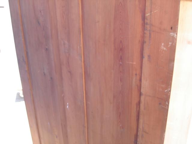 kleiderschrank jugendstil schrank dielenschrank nussbaum furniert w scheschrank ebay. Black Bedroom Furniture Sets. Home Design Ideas